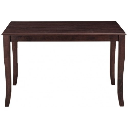 Victor Four Seater Dining Table Set (Walnut) Inside Victor Dining Tables (Image 24 of 25)
