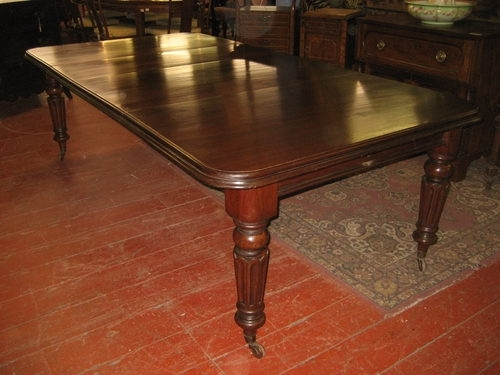 Victorian Mahogany Extending Dining Table – Antiques Atlas Inside Mahogany Extending Dining Tables And Chairs (Image 22 of 25)