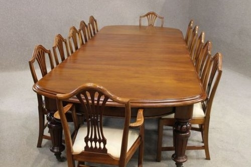 Victorian Mahogany Extending Dining Table – Antiques Atlas With Regard To Mahogany Extending Dining Tables And Chairs (Image 23 of 25)