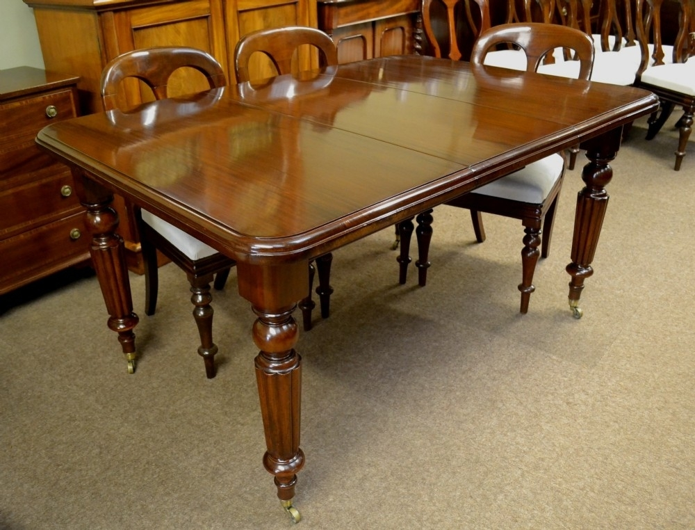 Victorian Mahogany Extending Dining Table C1870 | 314709 Within Mahogany Extending Dining Tables (View 18 of 25)