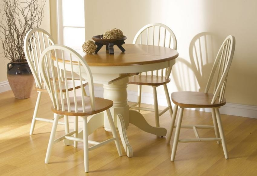 Vida Living – Cotswold Extending Dining Table With 4 Or 6 Windsor With Cotswold Dining Tables (Photo 7 of 25)
