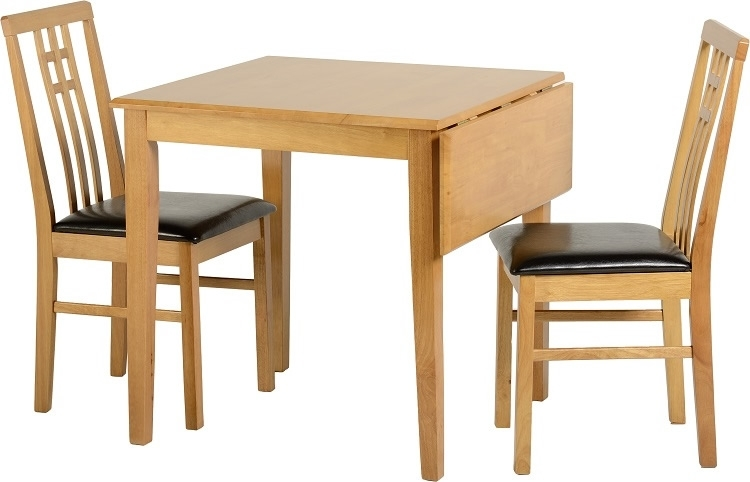 Vienna Drop Leaf Dining Set pertaining to Vienna Dining Tables