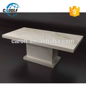 Vietnam White Marble Dining Table,8 Seater Dinner Table – Buy Stone Pertaining To White Dining Tables 8 Seater (Image 23 of 25)