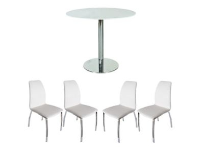 Vieux Extending Dining Table & 6 Alcora Chairs – Bonsoon For Alcora Dining Chairs (Photo 19 of 25)