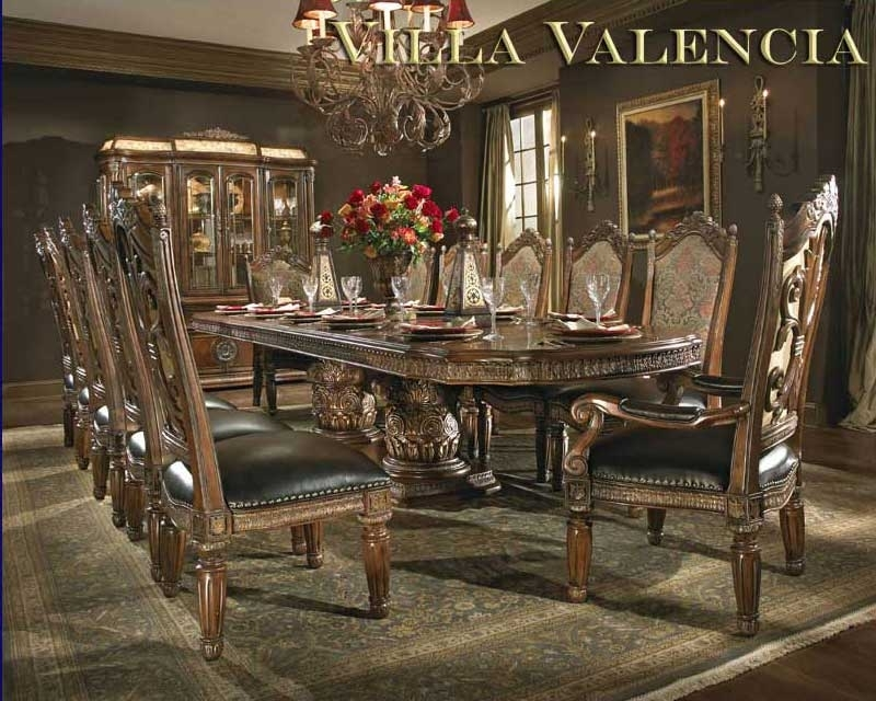 Villa Valencia Round Table Diningaico | Aico Dining Room Furniture Regarding Valencia 60 Inch Round Dining Tables (Image 24 of 25)