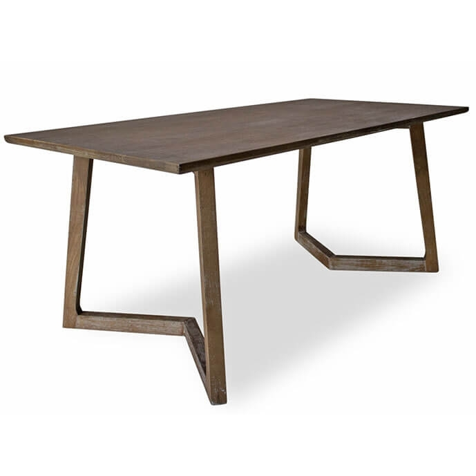 Vince Mid Century Modern Dining Table Pertaining To Contemporary Dining Tables (Image 25 of 25)