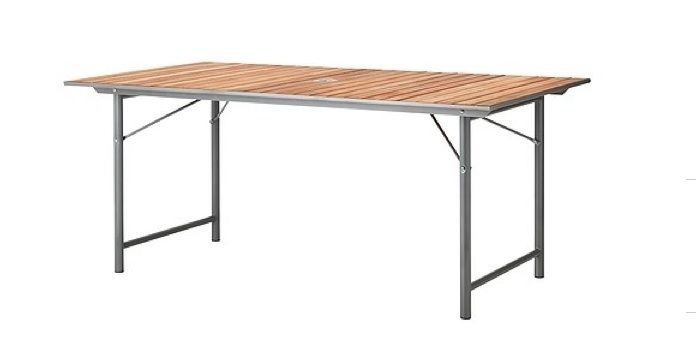 Vinö Table | Backyard | Pinterest | Outdoor Dining, Table And Outdoor Throughout Folding Outdoor Dining Tables (Image 25 of 25)