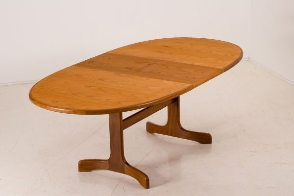 Vintage Fresco Teak Extending Dining Table From G Plan For Sale At inside Helms Rectangle Dining Tables