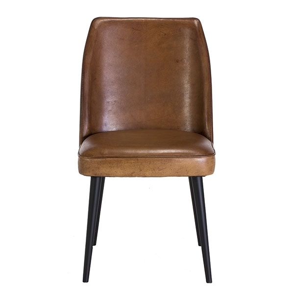 Vintage Leather Chair | Dining Chairs | Barker & Stonehouse With Regard To Brown Leather Dining Chairs (View 4 of 25)
