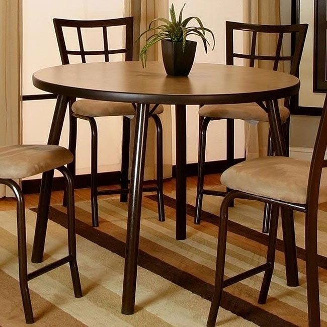 Vision Counter Height Dining Table (Java) – Dining Room And Kitchen Intended For Java Dining Tables (Photo 15 of 25)
