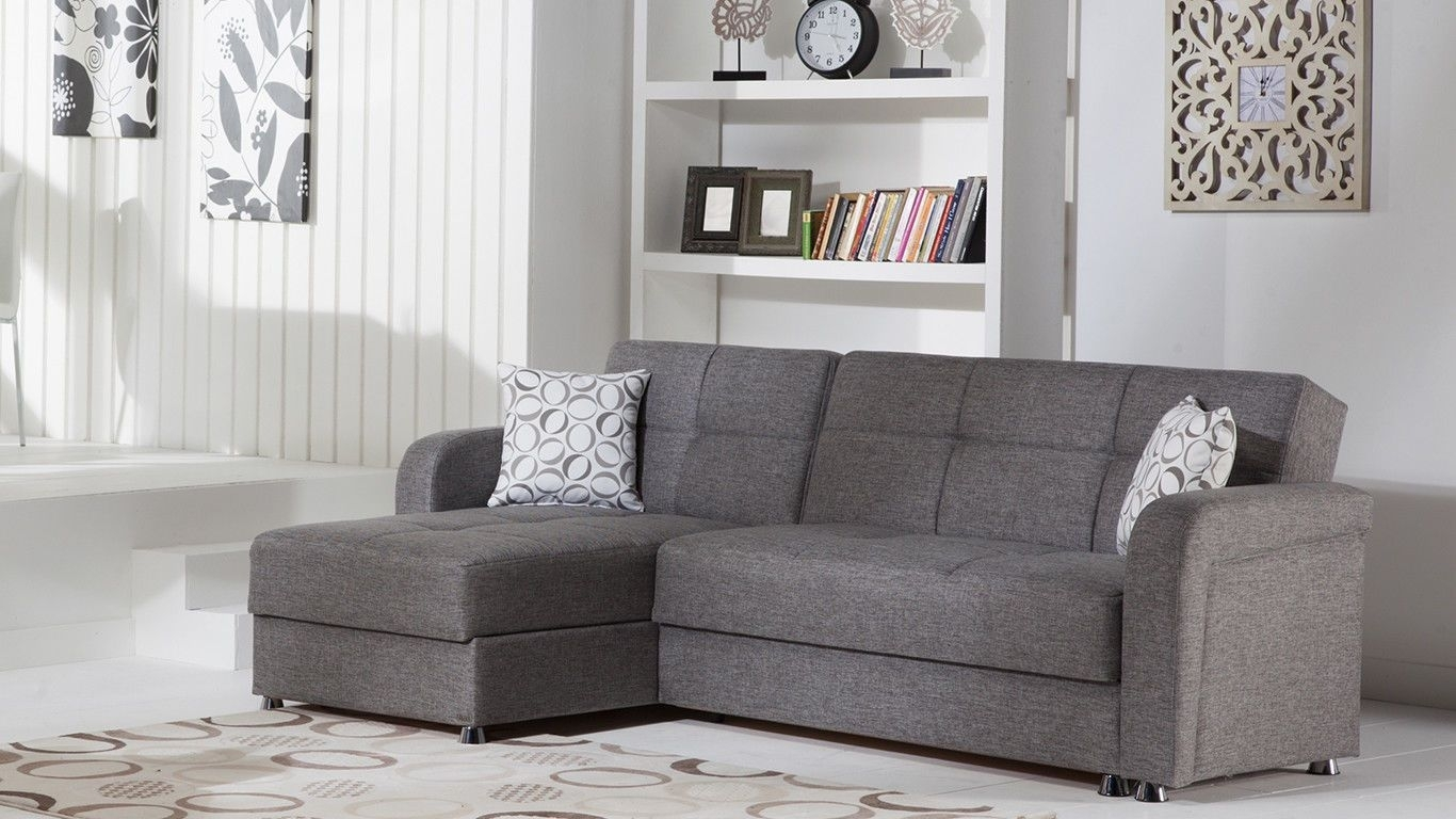 Vision Sectional Sofa | Diego Gray | Home Decor | Pinterest With Regard To Taren Reversible Sofa/chaise Sleeper Sectionals With Storage Ottoman (Image 25 of 25)