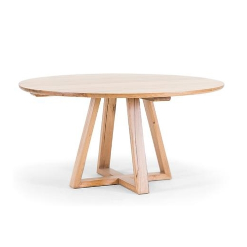 Vista Round Dining Table - Oliver Birch Furniture pertaining to Birch Dining Tables