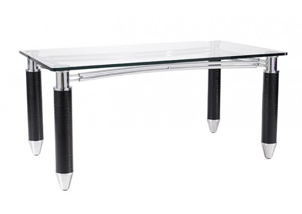 Vogue Dining Table  Glass Dining Table Only 1600X900X750 Model: Kt7068A Throughout Vogue Dining Tables (Photo 5 of 25)