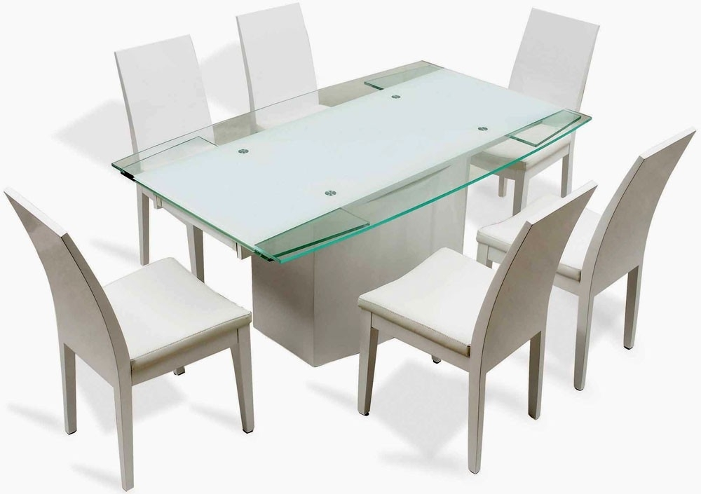 Vogue Dining Table - J Star Modern Furniture pertaining to Vogue Dining Tables