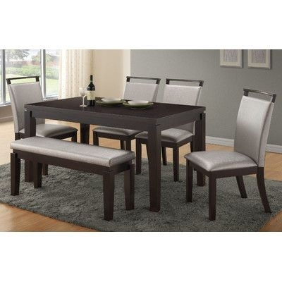 Wade Logan Carmichael 6 Piece Dining Set | Pinterest | Logan And With Logan 6 Piece Dining Sets (Image 20 of 25)