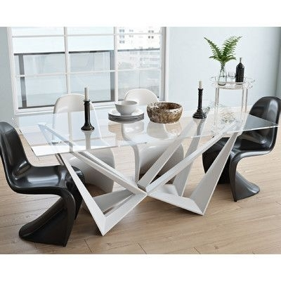 Wade Logan Dining Table Color: White | Products | Pinterest | Logan For Logan Dining Tables (Image 20 of 25)
