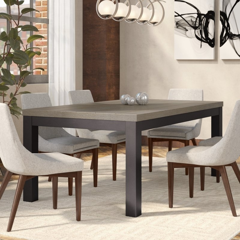 Wade Logan Riverdale Dining Table | Wayfair Inside Logan Dining Tables (View 24 of 25)