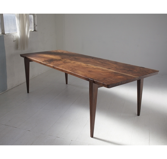 Walnut Dining Table | Midcentury Modern | Handcrafted In Walnut Dining Tables (Image 20 of 25)