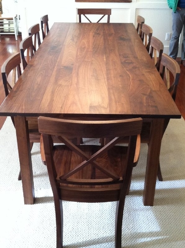 Walnut Dining Table Set – Tips For Using Walnut Dining Table Throughout Walnut Dining Table Sets (Image 21 of 25)