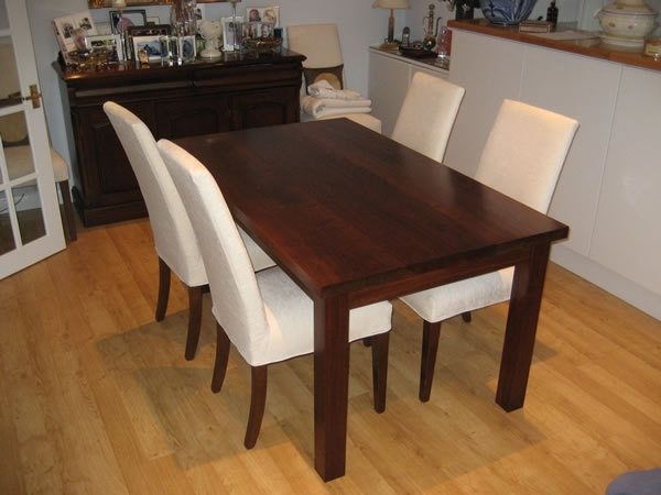 Walnut Dining Table Sets – Durable Walnut Dining Table – Iomnn Intended For Walnut Dining Tables And Chairs (Image 20 of 25)