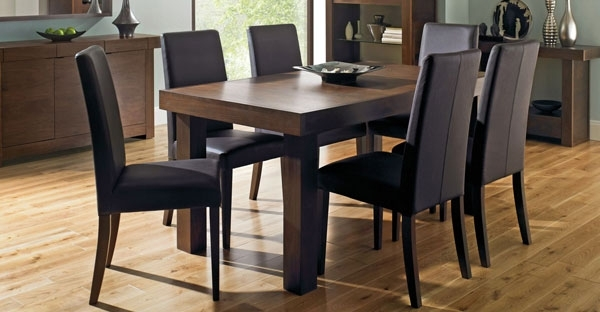 Walnut Furniture: Bedroom, Dining & Living Collection – Cfs Uk Throughout Walnut Dining Tables And Chairs (Image 24 of 25)
