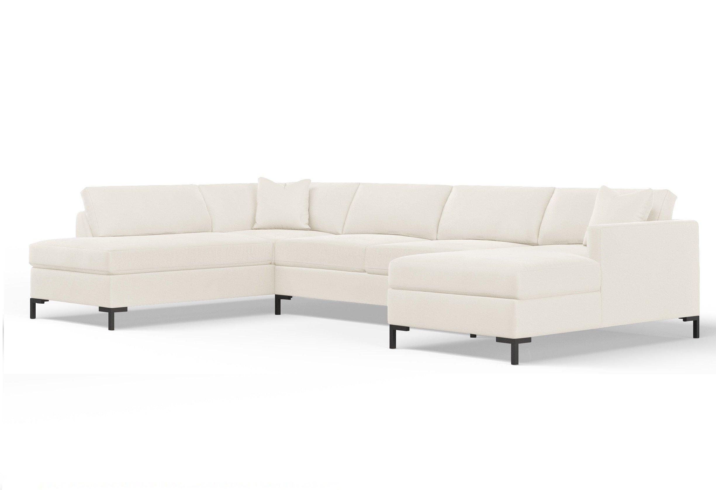 Wayfair Custom Upholstery™ Audrey Modular Sectional | Wayfair Pertaining To Cohen Down 2 Piece Sectionals (View 25 of 25)