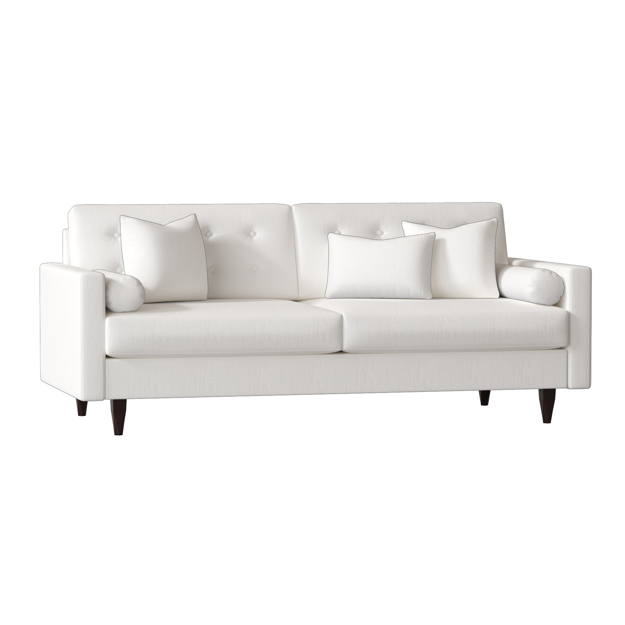 Wayfair Custom Upholstery™ Harper Sofa & Reviews | Wayfair In Harper Down 3 Piece Sectionals (Image 24 of 25)
