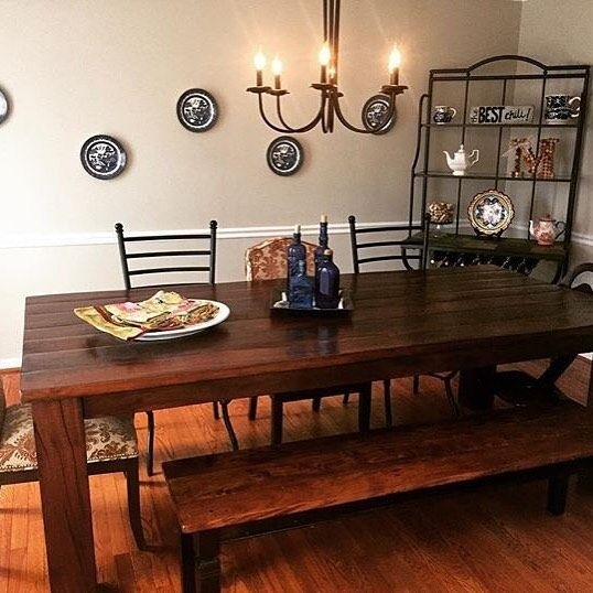 We Spy Our Rio Table In The Dining Room Of @lmacedo311 Share Your With Regard To Rio Dining Tables (View 7 of 25)