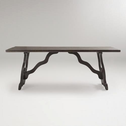 Weathered Gray Romeo Dining Table – World Market Pertaining To Market Dining Tables (Image 19 of 25)