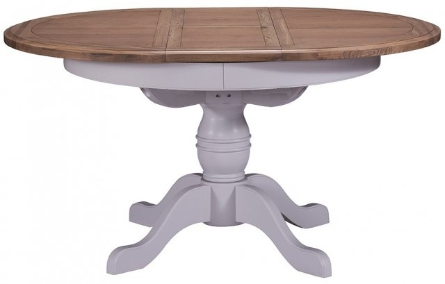 West Point Round Extending Dining Table – Dining Tables | Alan Ward Regarding Extending Round Dining Tables (Image 24 of 25)