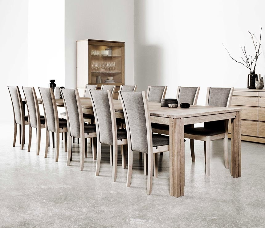 Wharfside Long Dining Table – Ai24 – Danish Wood Dining Furniture Intended For Long Dining Tables (Image 25 of 25)