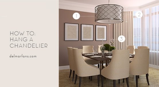 What Size Dining Room Chandelier Do I Need? A Sizing Guide From Pertaining To Lamp Over Dining Tables (View 19 of 25)