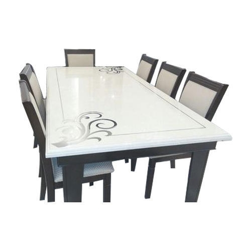 White And Brown 8 Seater Dining Table Set, Rs 70000 /set | Id With Regard To White 8 Seater Dining Tables (Image 25 of 25)