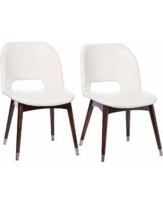 White Dining Chairs Betty Modern White Leather Dining Chairs Lazonmf Within White Leather Dining Chairs (Image 18 of 25)