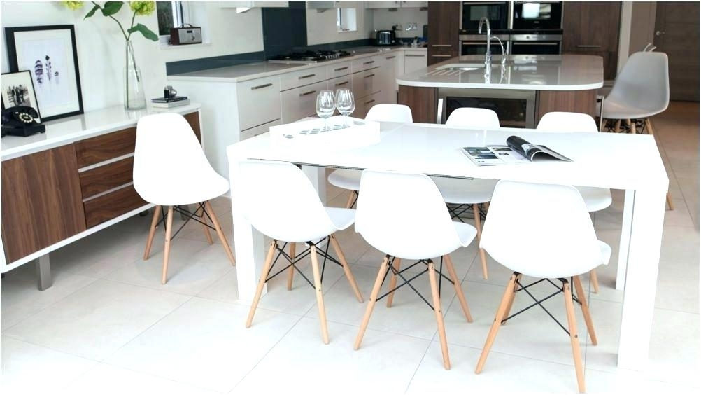 White Dining Table Set – Payoneer (Image 24 of 25)