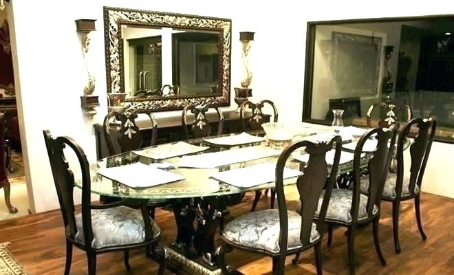White Dining Table With 8 Chairs Seat Pub Style Set Sale Ends For Intended For 8 Chairs Dining Sets (Image 24 of 25)