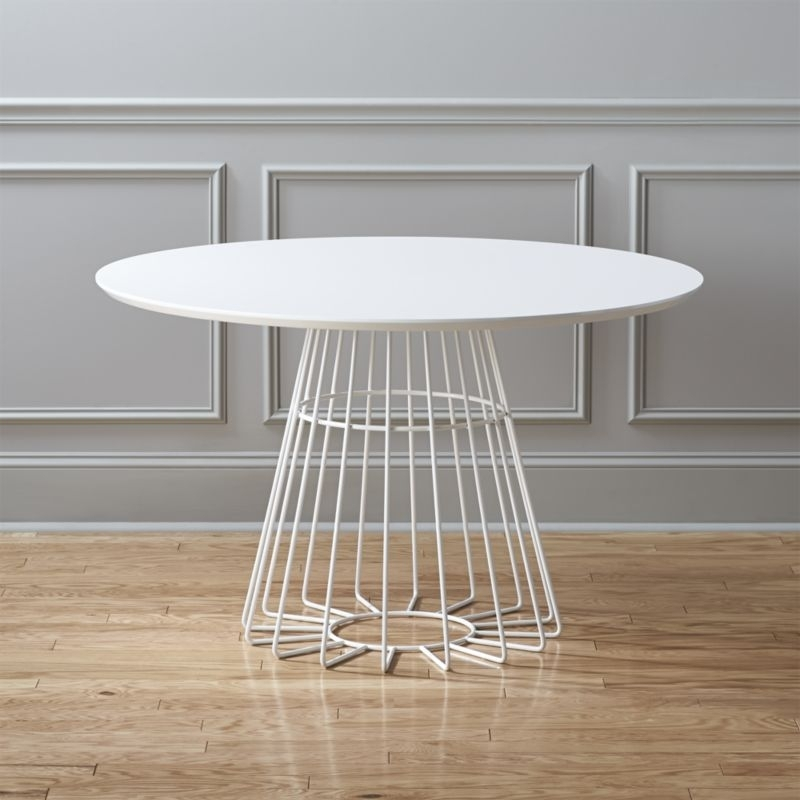White Dining Tables | Cb2 Intended For Next White Dining Tables (Image 25 of 25)