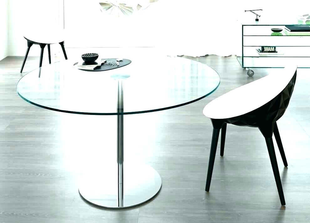 White Glass Dining Table Ikea Round Glass Dining Table Top Kitchen Pertaining To Ikea Round Glass Top Dining Tables (Image 25 of 25)