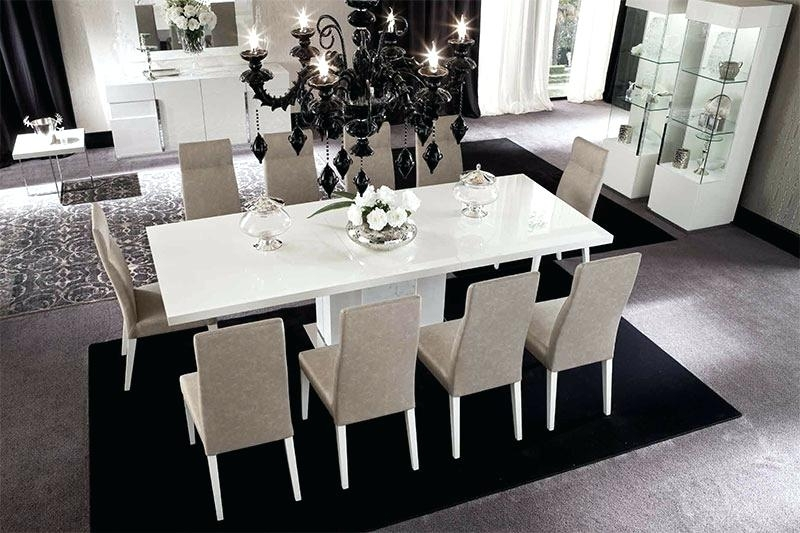 White Gloss Dining Set High Gloss Furniture White High Gloss Dining Inside White Gloss Dining Tables Sets (Image 22 of 25)