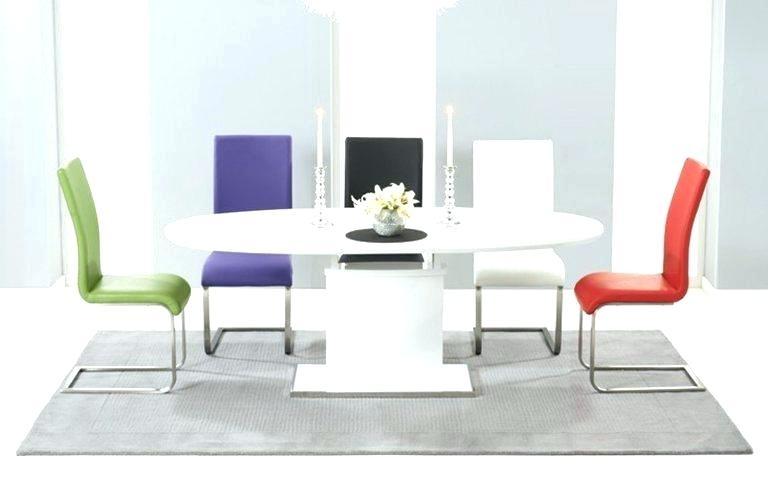White Gloss Dining Set Modern White Gloss Dining Table Glass Legs For White Gloss Dining Tables 140Cm (View 2 of 25)