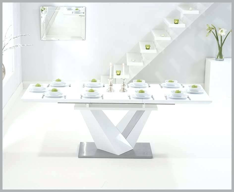 White Gloss Dining Table Extending White Gloss Extending Dining Regarding White Gloss Dining Tables 140Cm (Image 21 of 25)
