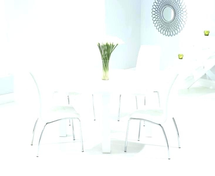 White Gloss Dining Table Grey Chairs Australia High And Uk Sets With Regard To White Gloss Round Extending Dining Tables (View 24 of 25)
