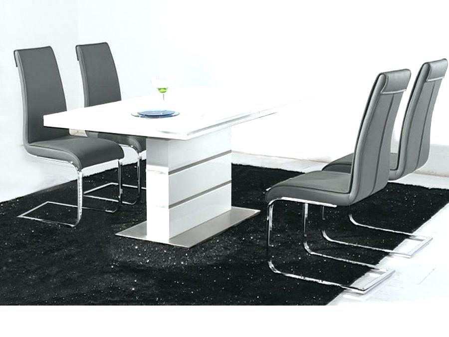 White Gloss Dining Table White Gloss Dining Table 4 Round White Pertaining To Hi Gloss Dining Tables (View 13 of 25)