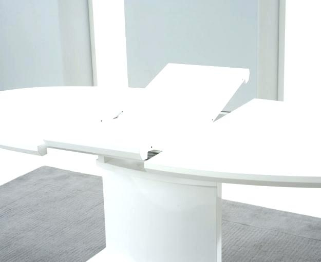 White Gloss Extending Dining Table Fern White Gloss Extending Dining Inside White Gloss Round Extending Dining Tables (View 8 of 25)