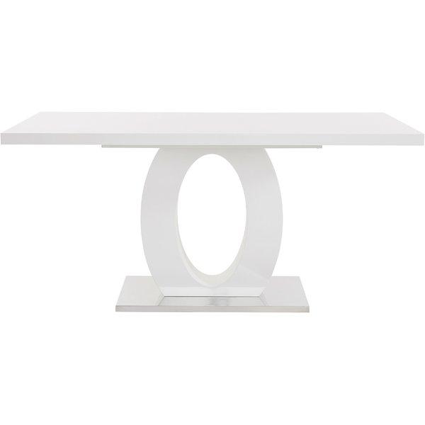 White Gloss Nest Off Tables | Wayfair.co (Image 25 of 25)