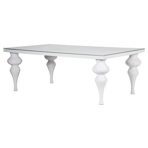 White Hi Gloss Dining Table Intended For Hi Gloss Dining Tables (View 11 of 25)