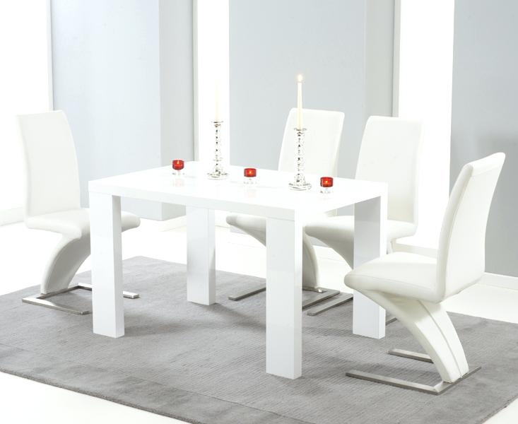 White High Gloss Dining Table Delivery And 4 Chairs – Yourlegacy In White High Gloss Dining Tables And Chairs (Image 24 of 25)