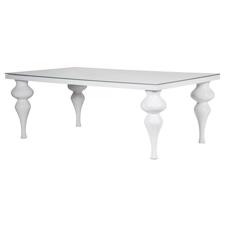 White High Gloss Dining Table | Exclusive Interiors With Regard To White High Gloss Dining Tables (Image 23 of 25)