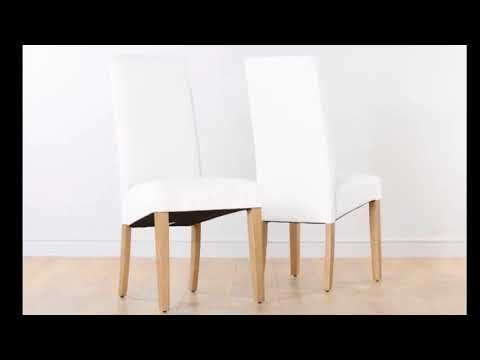 White Leather Dining Chairs – Crate And Barrel White Leather Dining With White Leather Dining Chairs (Image 21 of 25)