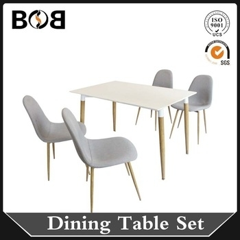 White Mdf Dining Table And Chairs Beech Wood Furniture – Buy Dining Intended For Beech Dining Tables And Chairs (View 18 of 25)